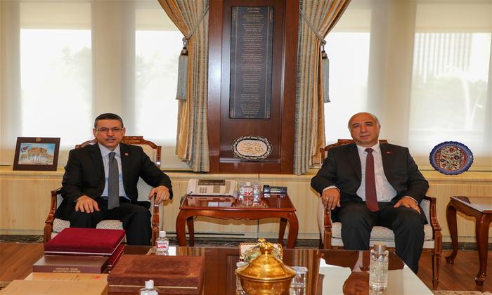 Niğde Ömer Halisdemir Üniversitesi Rektörlüğü'nden Sayıştay Başkanı Seyit Ahmet Baş'a Ziyaret