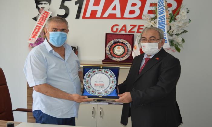Cumhurbaşkanlığı İletişim Başkanlığı Kayseri Bölge Müdürü Mehmet Uğurlu'dan 51 Haber Gazetesine Ziyaret