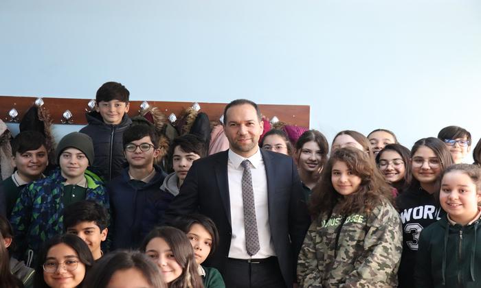 LGS'ye Girecek Öğrencilere Başkan Özdemir'den Başarı Mesajı